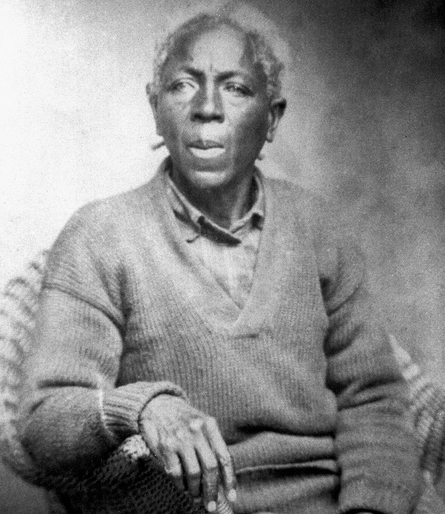 Maltilda McCrear, confirmed as the last survivor of the last ship in which enslaved people were brought to the US