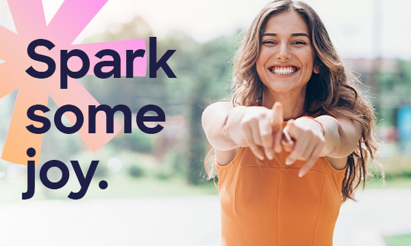 Spark some joy