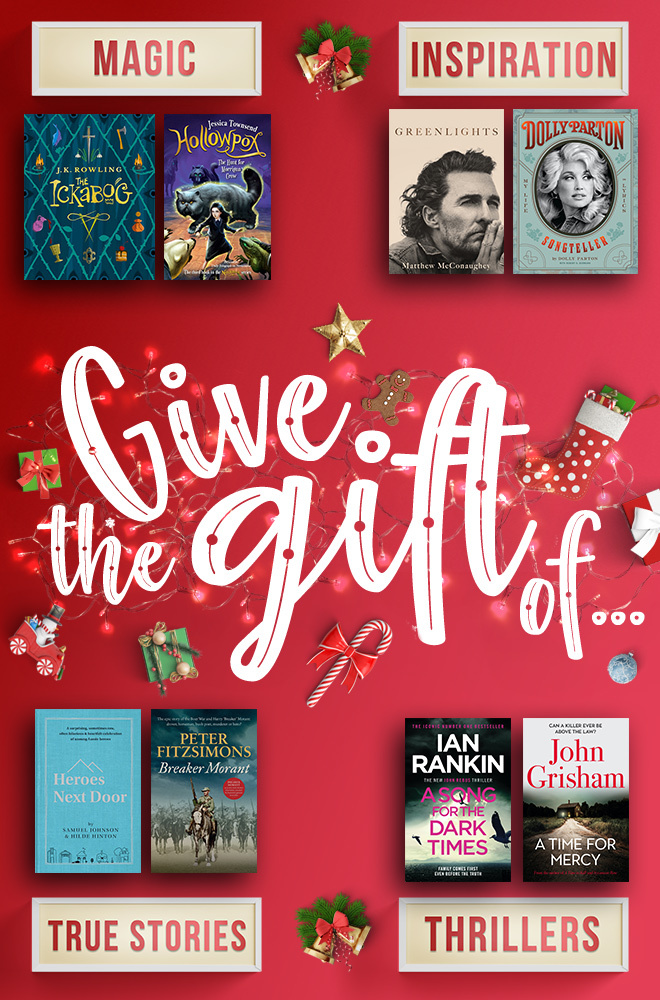 This Christmas, give the gift of a book. Click to read our 2020 gift guide.